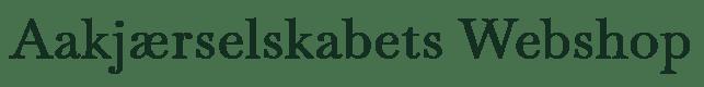 Aajkjærselskabets Webshop logo