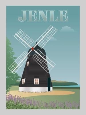 Plakat af Jenle Møllen
