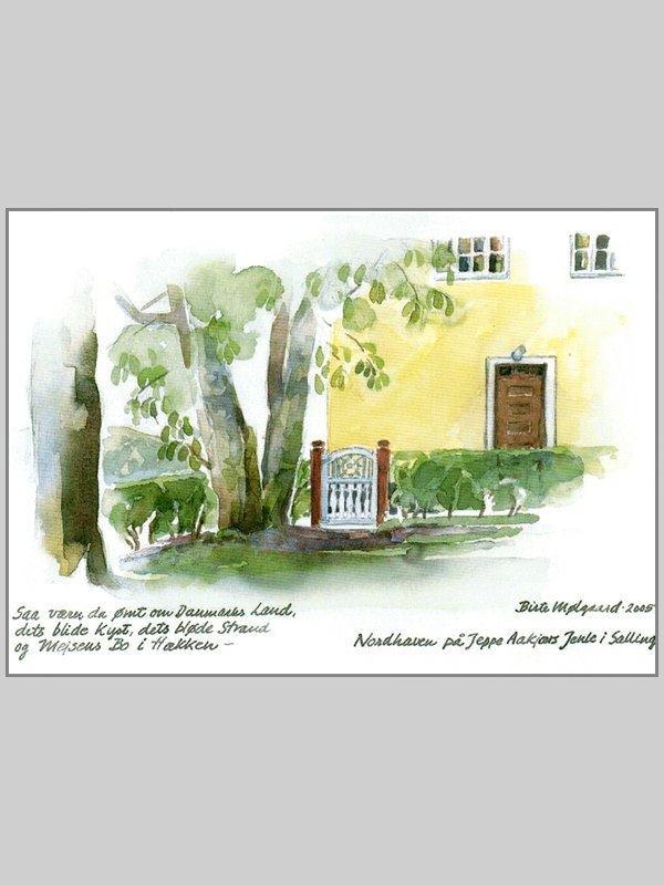 Postkort af Mølgaard - Jenle nordhaven