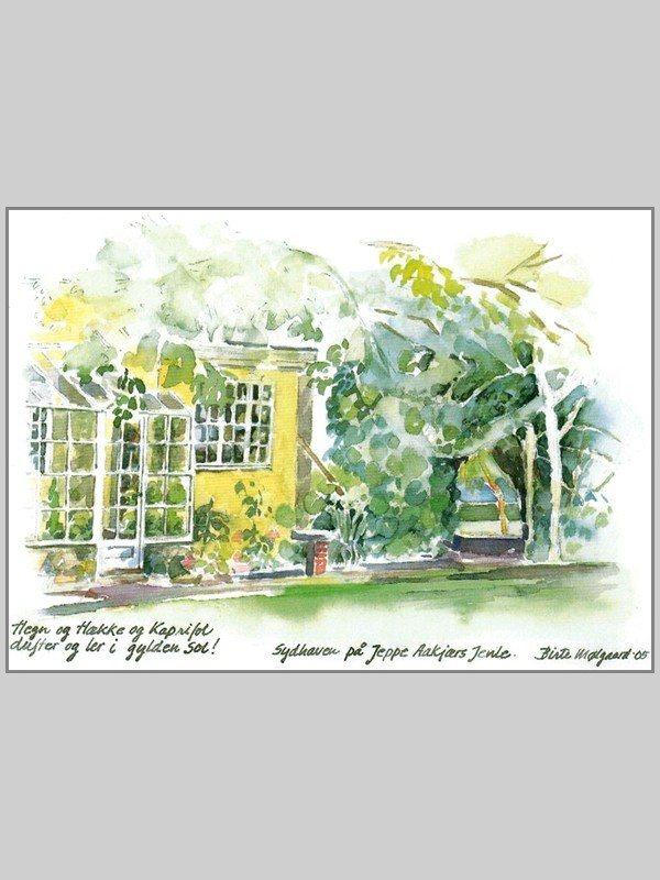Postkort af Mølgaard - Jenle sydhaven